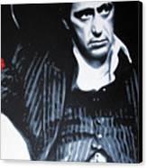 - Scarface - Canvas Print by Luis Ludzska