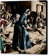 Florence Nightingale, English Nurse Canvas Print by Science Source
