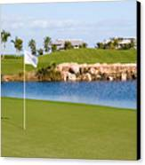 Florida Gold Coast Resort Golf Course Canvas Print by ELITE IMAGE photography By Chad McDermott