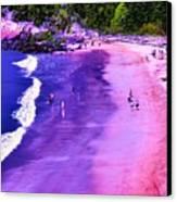 74f Bright Beach Canvas Print