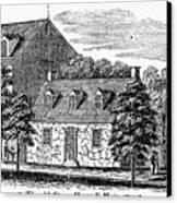 Washington: Headquarters, Canvas Print