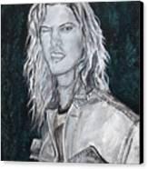 80's Rock Canvas Print by Viktoria Tormassy
