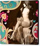 Goddess Canvas Print by Chris Andruskiewicz