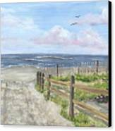 92nd Street Canvas Print by Margie Perry