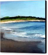 A Beach In Smithfield Canvas Print
