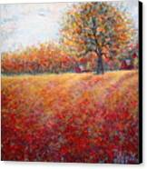 A Beautiful Autumn Day Canvas Print