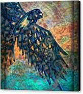 A Bird's Eye View Canvas Print by Wbk