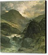 A Canyon Canvas Print