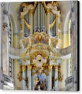 A Church Filled With Music - Church Of Our Lady Dresden Canvas Print