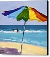 A Colorful Spot Canvas Print