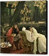 A Convalescent Canvas Print by James Jacques Joseph Tissot