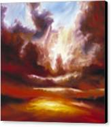A Cosmic Storm - Genesis V Canvas Print