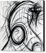 A Dunking Canvas Print