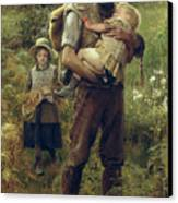 A Heavy Burden Canvas Print