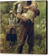 A Heavy Burden Canvas Print by Arthur Hacker