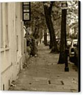 A London Street I Canvas Print
