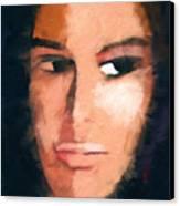 A Look Canvas Print