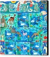 A Magic Country Canvas Print by Sushila Burgess