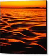 A Molten Sea Canvas Print