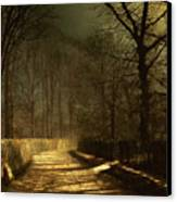 A Moonlit Lane Canvas Print
