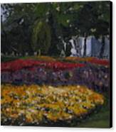 A Park In Cambrige Canvas Print