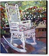 A Rest In The Shade Canvas Print by David Lloyd Glover