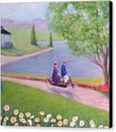 A Ride In The Park Canvas Print