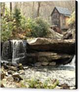 A Simple Place And Time Canvas Print by Wallace Marshall