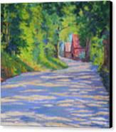 A Summer Road Canvas Print
