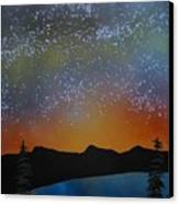 A Summer's Eve At Lake Tahoe Canvas Print