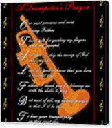 A Trumpeters Prayer_1 Canvas Print by Joe Greenidge