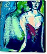 A Waiting Canvas Print