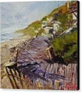 A Walk On The Beach Canvas Print