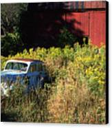 Abandoned Canvas Print by Barry Shaffer