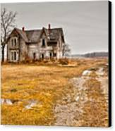 Abandoned Farm House Canvas Print by Cale Best