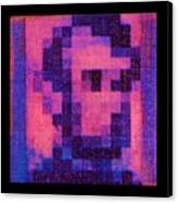 Abe In Hot Pink  Canvas Print
