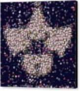 Abide Bottle Cap Mosaic Canvas Print by Paul Van Scott