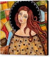 Abigail Canvas Print by Rain Ririn