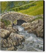 Above Ashness Bridge Canvas Print
