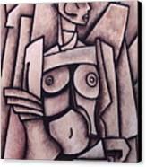 Absract Girl Canvas Print