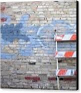 Abstract Brick 2 Canvas Print