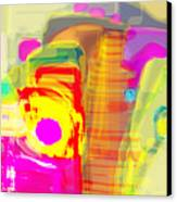 Abstract Colors Canvas Print by Don  Wright