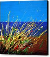 Abstract Ibiza Canvas Print