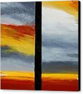 Abstract Landscape 17 Canvas Print
