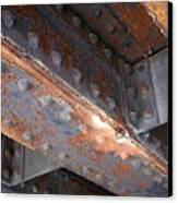 Abstract Rust 3 Canvas Print