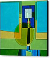 Abstract Shapes Color Two Canvas Print by Gary Grayson