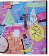 Abstract Universum 3 Canvas Print