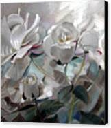 Abstracted Roses Canvas Print