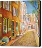 Acorn Street Canvas Print