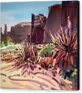 Across Monument Valley Canvas Print